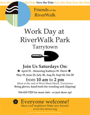 Friends of the RiverWalk flyer